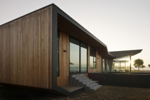 Beached house