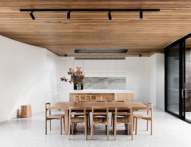 Check out this pad! When timber meets stone at thishellip