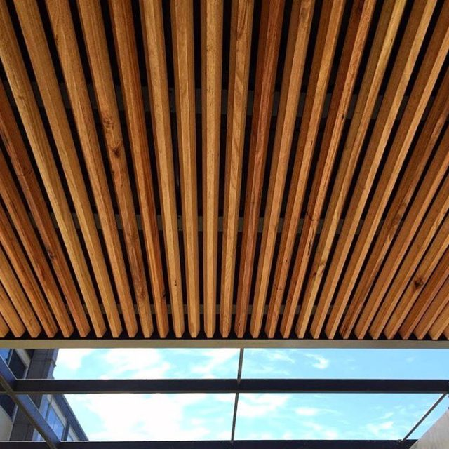 A beautiful timber ceiling using Silvertop Ash screenboards the perfecthellip
